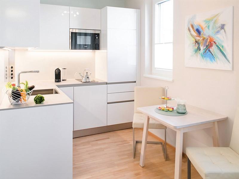 Einzimmerwohnung einrichten: Zeitloses Design