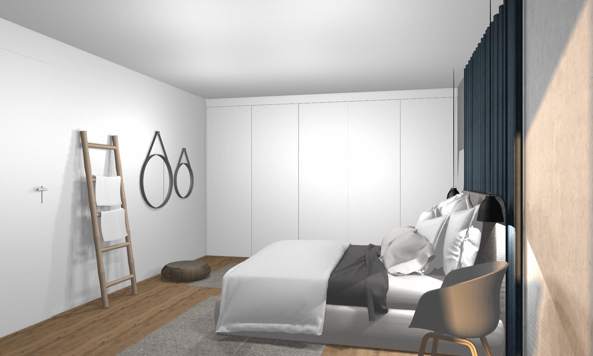 Schlafzimmer Kuschelig: Kupfer