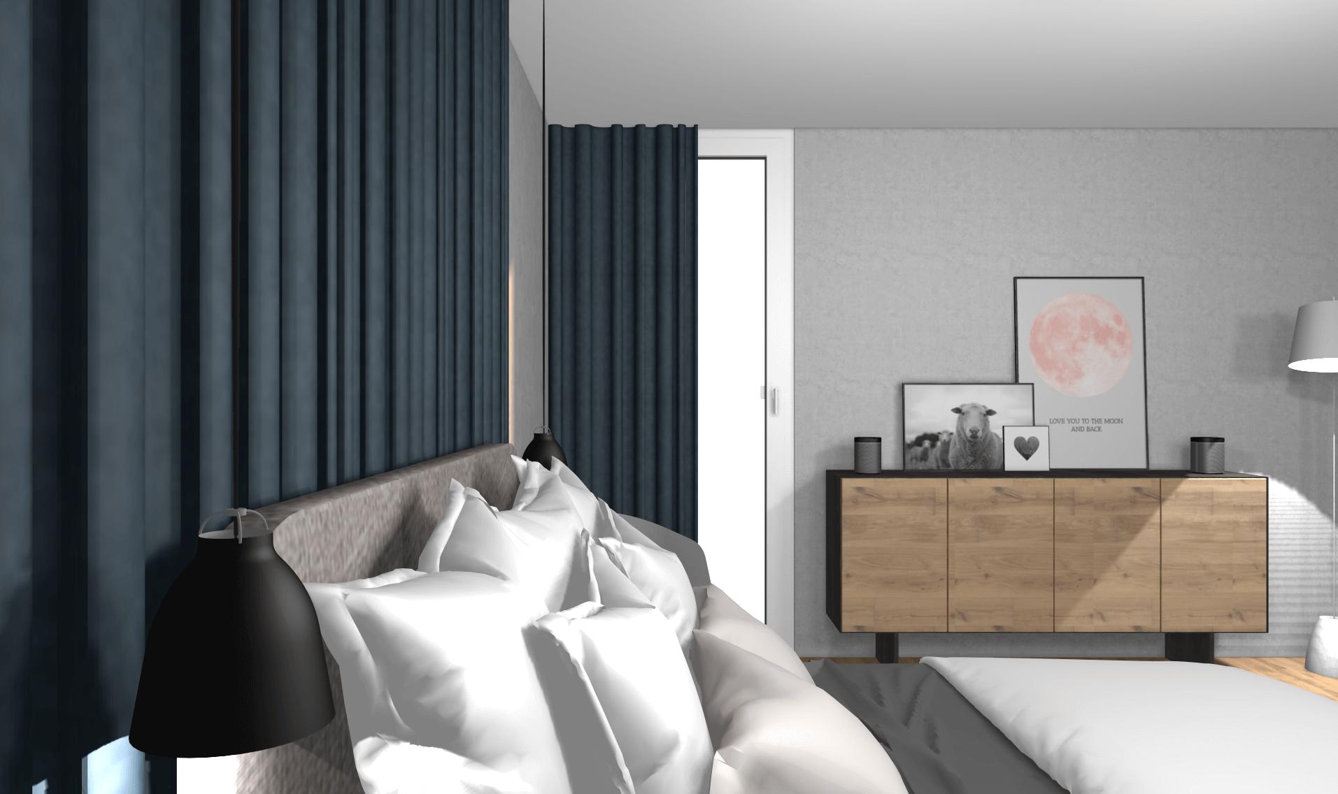 Stylisches Schlafzimmer Konzept Mit Kleinem Budget Von Wohnly   Stylische  Schlafzimmer