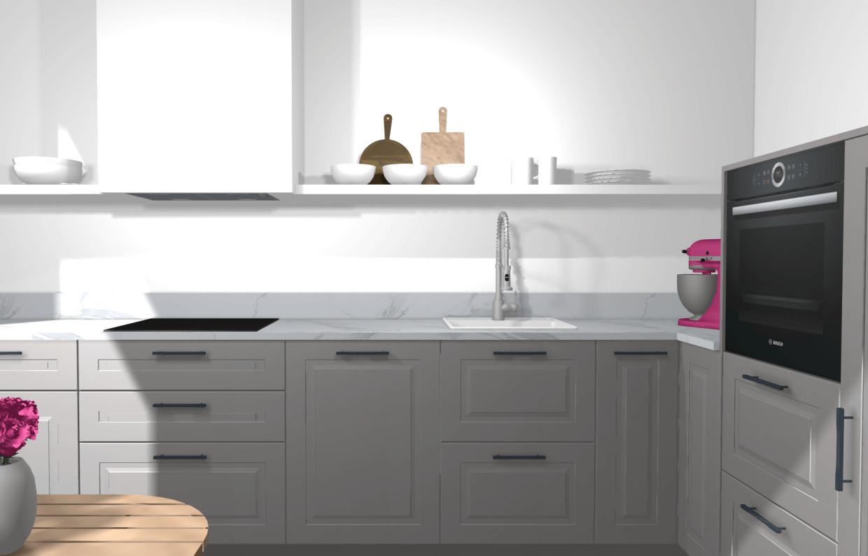 Ikea Kuche Planen Stylische Designerkuche Mit Kleinem Budget