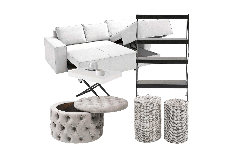 kleine-Wohnung-einrichten-Praktische-Möbel