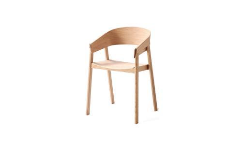 Holz-Stuhl-mid-century-Stil
