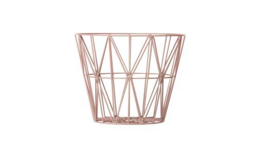 Wire-Basket-3065-rosa-medium-nude-einrichten